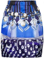 Mary Katrantzou Check Foam Tulip Skirt