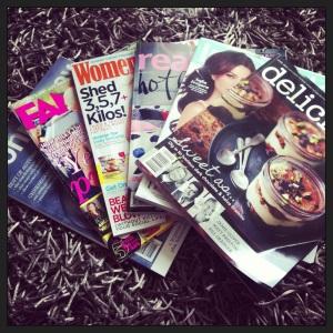 Magazine fix