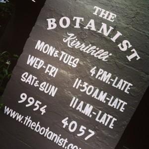 The Botanist trading