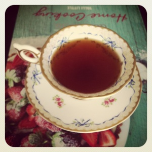 Tea in my Wedgewood teacup