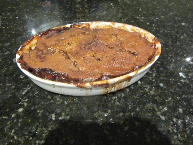 Grandma's self saucing pudding