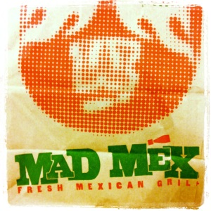 Mad Mex fix for lunch