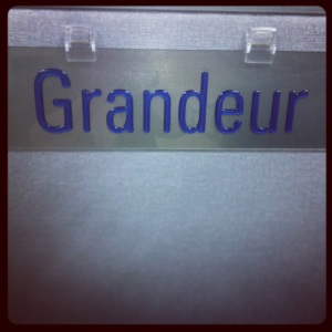 New name tag at work (or an old model we no longer sell)